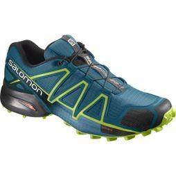 Salomon Men's Speedcross 4 Deep Lagoon/Acid Lime/Reflecting Pond