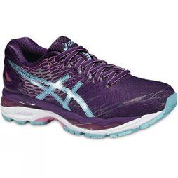 Asics Womens Gel-Nimbus 18 Purple / Turquoise / Flamingo