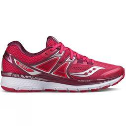 Saucony Womens Triumph ISO 3 Pink/Berry/Silver