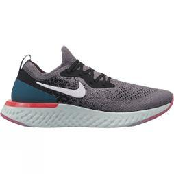 Nike Womens Epic React Gunsmoke/White-Black-Geode Teal