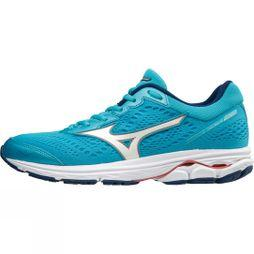 Mizuno Womens Rider 22 Blue Atoll/White/ Georgia Peach