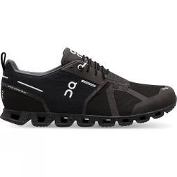 On Womens Cloud (Waterproof) Black/Lunar