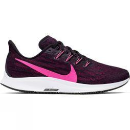 Nike Women's Air Zoom Pegasus 36 Black/Pink Blast-True Berry-White