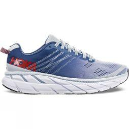 Hoka One One Womens Clifton 6 (Wide) Plein Air/ Moonlight Blue