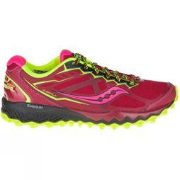 Saucony Women's Peregrine 6 RED/CITRO/PINK