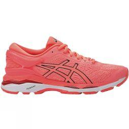 Asics Womens Gel Kayano 24 Flash Coral/Black/White
