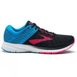 Brooks Womens Ravenna 9  Black/Blue/Pink