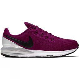 Nike Womens Air Zoom Structure 22 TRUE BERRY/BLACK-CHROME-WHITE