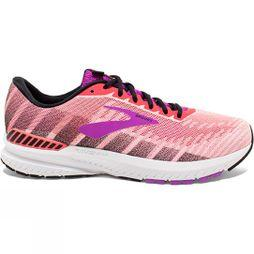 Brooks Womens Ravenna 10 Coral/Purple/Black