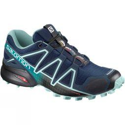 Salomon Women's Speedcross 4 Poseidon/Eggshell Blue/Black