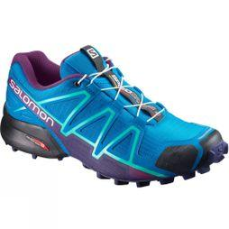 Salomon Women's Speedcross 4 Hawaiian Surf/Astral Aura/Grape Juice