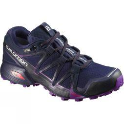 Salomon Womens Speedcross Vario 2 GTX Shoe Astral Aura/Navy Blazer/Grape Juice