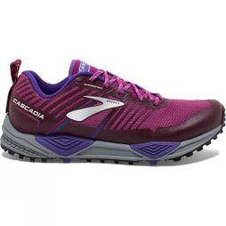 Brooks Womens Cascadia 13 Aster/Fig/Purple