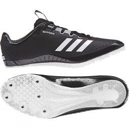 Adidas Womens Sprintstar Spikes Core Black / Orange / Ftwr White