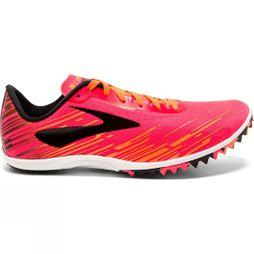 Brooks Womens Mach 18 Pink/Orange/Black
