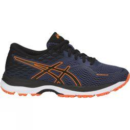 Asics Boys GEL-CUMULUS 19 GS Indigo Blue/Black/Shocking Orange