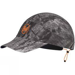 Buff Mens Pack Run Cap R-City Jungle Grey