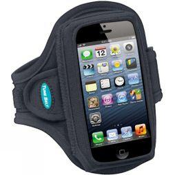 Armband for Larger Smartphones and iPhone 5 in Bumper case
