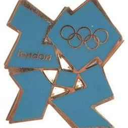 2012 Logo Pin Badge