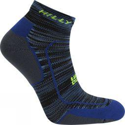Hilly Lite Comfort Quarter Sock Cobalt/Charcoal