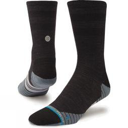 Mens Uncommon Solids Wool Crew Socks