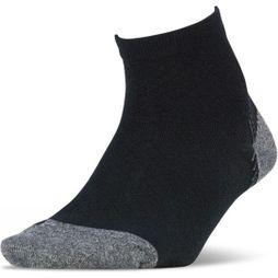 Feetures Plantar Fasciitis Ultra Light Quarter Black