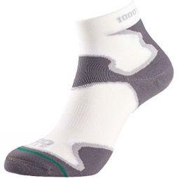 1000 Mile Womens Fusion Anklet Sock White/Grey