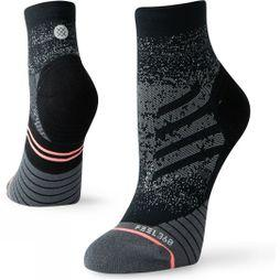 Stance Women's Uncommon Run Quarter Black