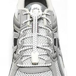 Nathan Run Lock Laces White White