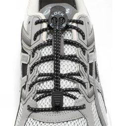 Nathan Lock Laces 2 Pack Black