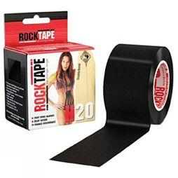 Rocktape H20 5cm x 5m Kinesiology Tape Roll Black