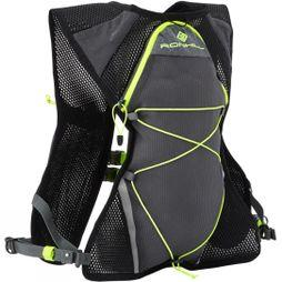 Ronhill Nano 3L Vest Charcoal/Fluo Yellow