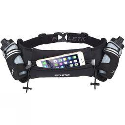 Fitletic Hydra 16oz Hydration Belt Black