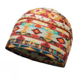 Patterned Polar Fleece Hat