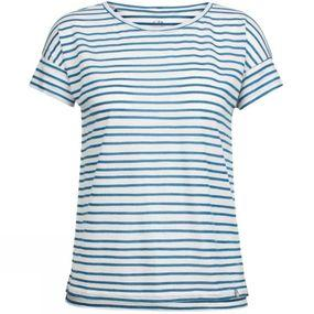 Women Aria SS Scoop Pulled Lines T-Shirt