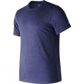 Mens Short Sleeve Heather Tech Tee