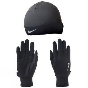 Men's Running Dri-Fit Glove/Beanie Set