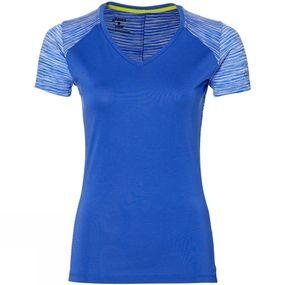 Womens FuzeX V-Neck Short Sleeve Top