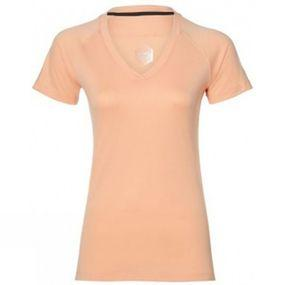 Womens V-Neck Short Sleeve Top