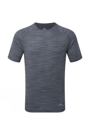 Ronhill Mens Infinity Air-Dry T-Shirt  Charcoal Marl