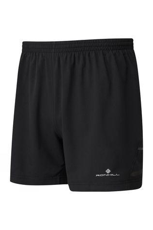 "Ronhill Mens Stride 5"" Shorts All Black"