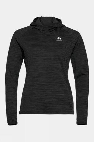 Odlo Womens Millennium Element Midlayer Hoody Black Melange