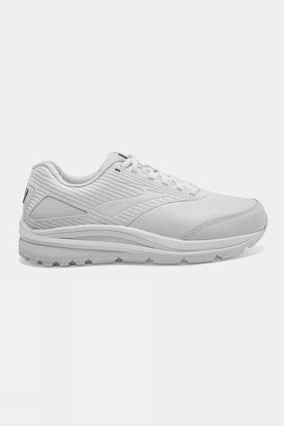 Brooks Womens Addiction Walker 2 Extra Wide White/White