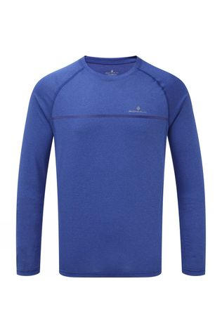Ronhill Mens Everyday Long Sleeve Tee Azurite Marl