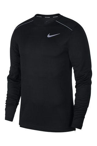 Nike Men's Dry Miler Long Sleeve Top Black
