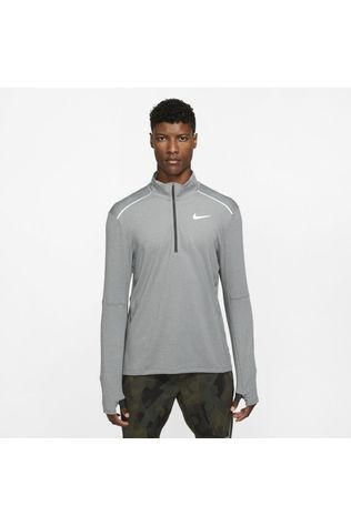 Nike Men's 1/2 Zip Dark Smoke Grey/Heather