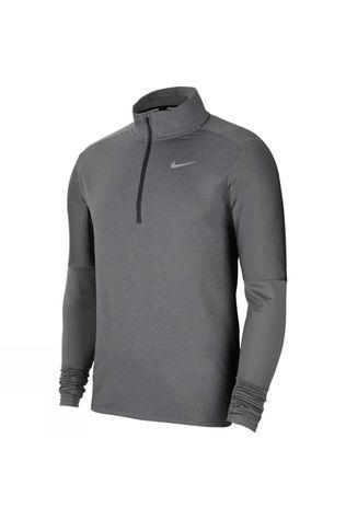 Nike Men's Dry Fit Element 1/2 Zip Top Smoke Grey