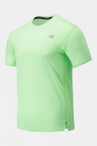 New Balance Impact Run Short Sleeve Tee Electric Green