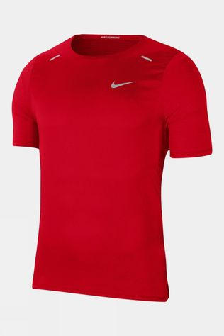Nike Men's Breathe Rise Hybrid 365 SS Tee University Red