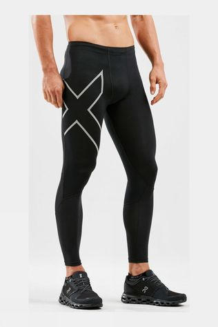 2XU Run Dash Compression Tights Black/Silver